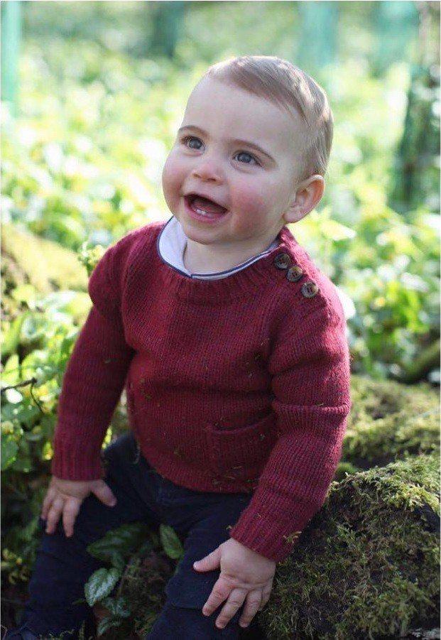 路易王子滿一歲,卻意外使得叔叔、嬸嬸被網友圍剿。圖/摘自Instagram