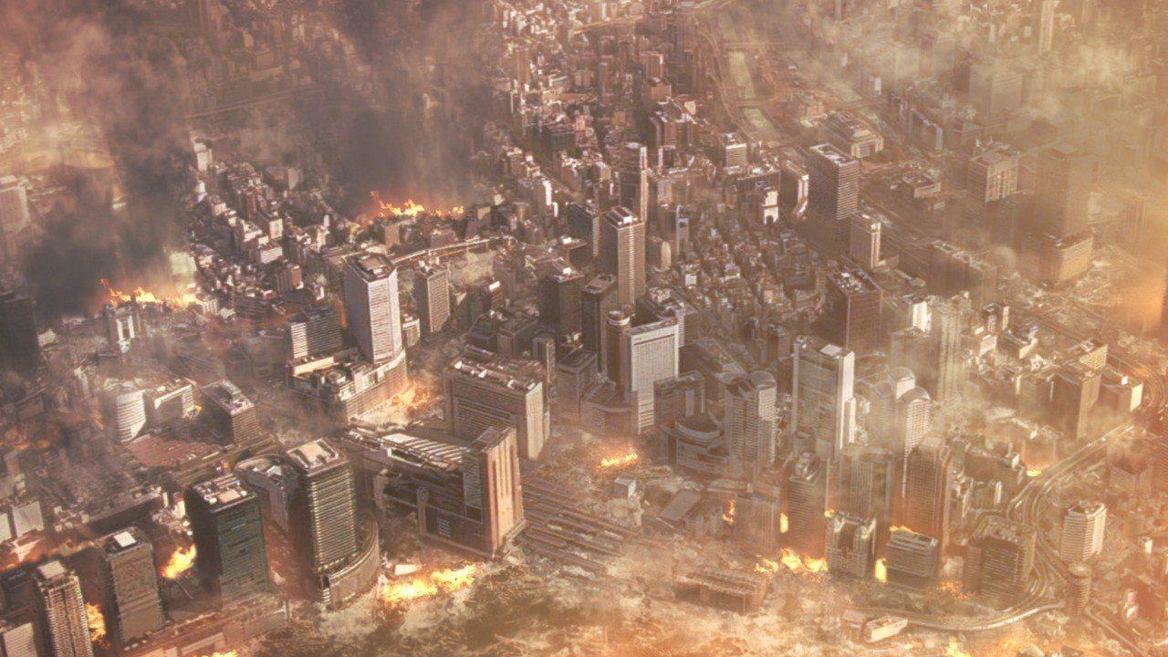 NHK紀錄片《撼動摩天樓》深入解析「長週期脈衝」與活斷層的緊密相關。圖/公視提供