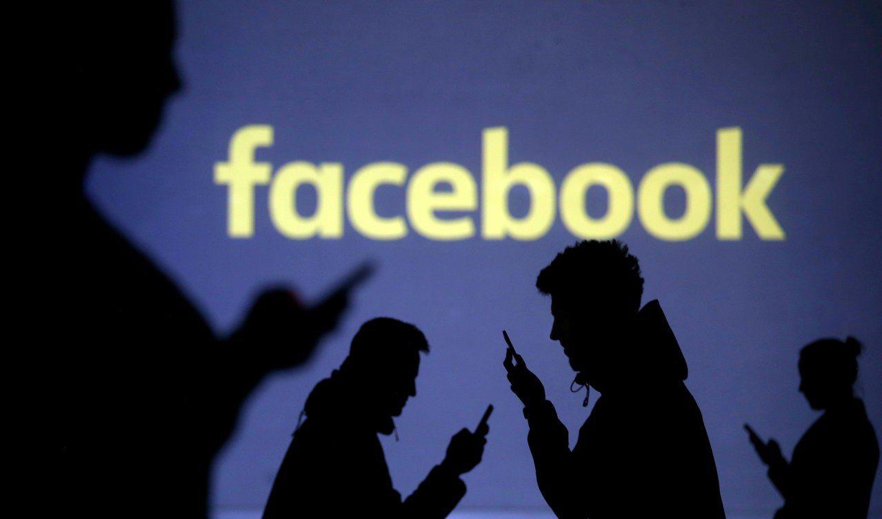 臉書Q1營收亮眼,盤後股價飆漲逾10%。 路透