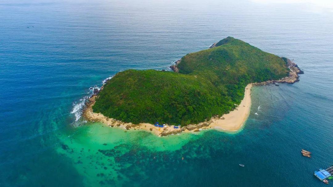 圖為大陸無人島。新華社資料照