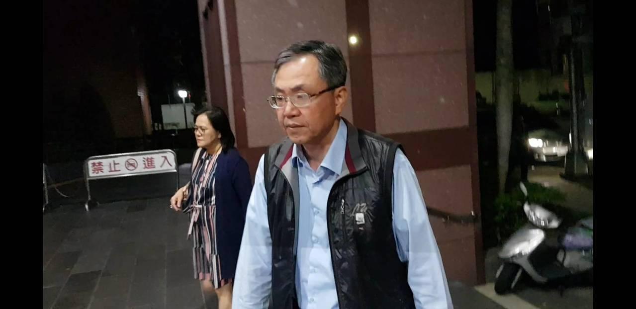 盛達電涉詐貸4.8億,董座陳忠廷移送北檢複訊。記者張宏業/攝影。