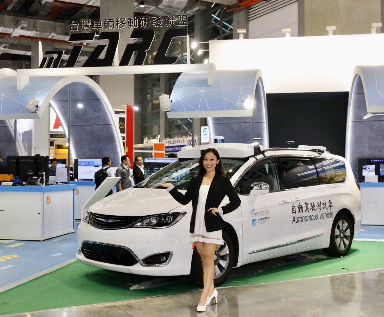 工研院的全天候多車型自駕車整合系統,結合「同步定位與地圖建構」(SLAM)技術、...