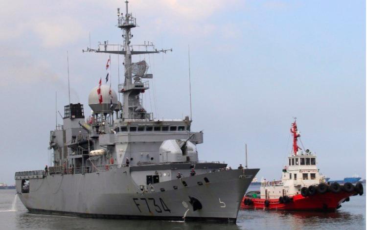法國巡防艦「葡月號」。 路透