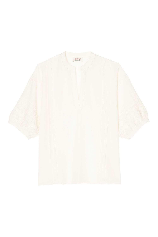 波西米亞風雕花開襟衫,9,800元。圖/Paul & Joe Sister提供