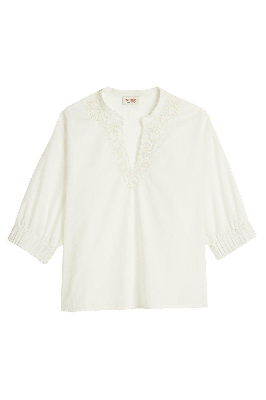 鏤空蕾絲開襟衫,8,800元。圖/Paul & Joe Sister提供
