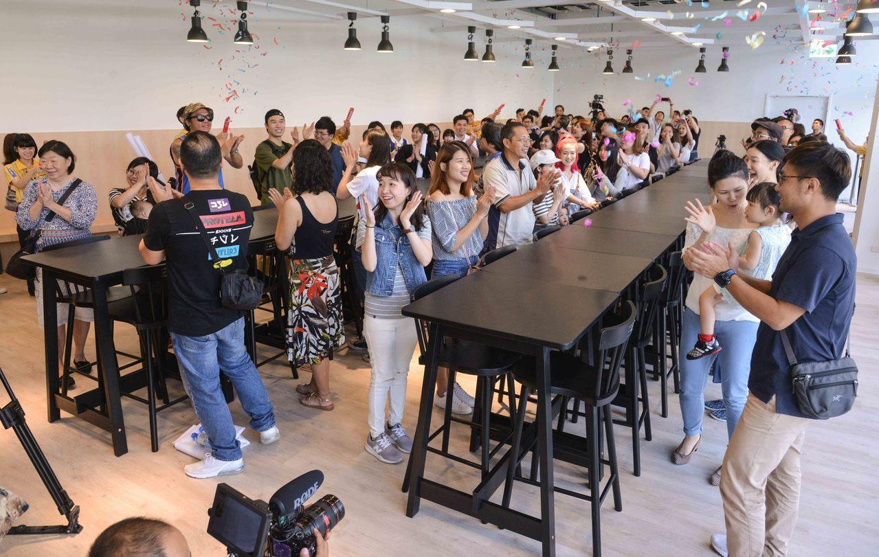 IKEA新店店熱鬧舉辦入厝安椅活動,並預告5月16日正式開幕。圖/IKEA提供