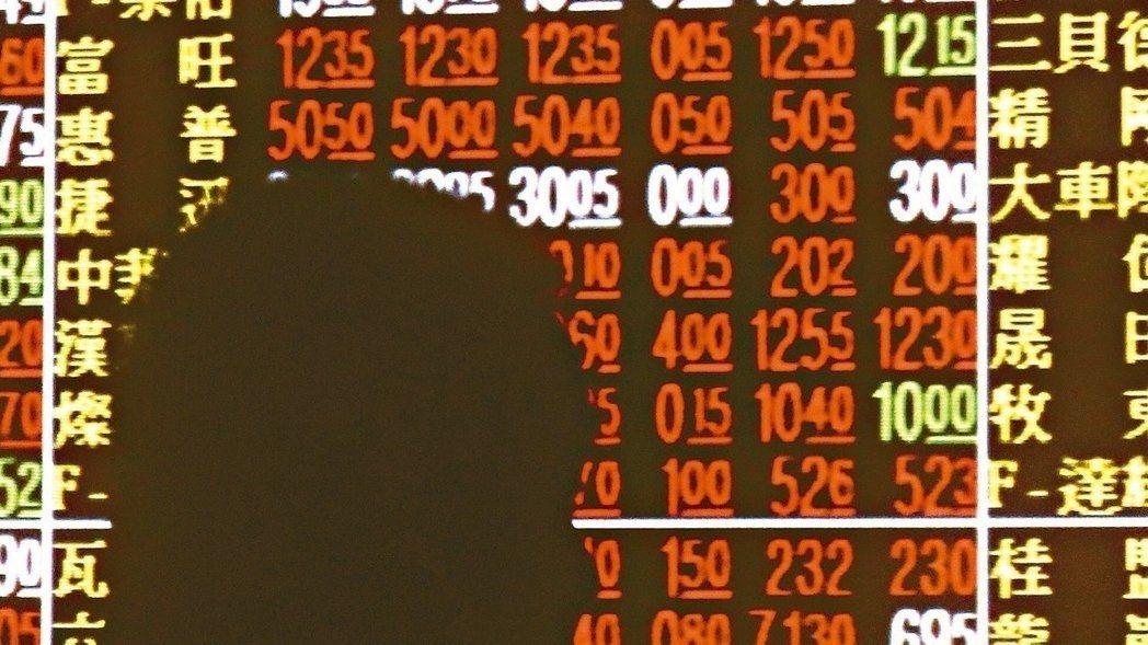 股市驚驚漲,不少投資人卻逆操作買進避險ETF。報系資料照