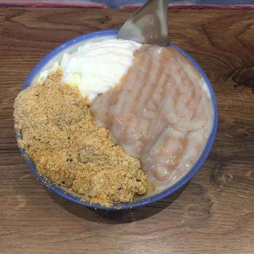 「蜜芋麻糬燒」是許多客人首選。IG@fangyu.com.tw提供