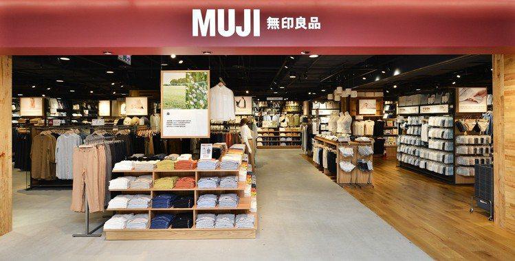 MUJI無印良品巨蛋門市是高雄最大店鋪,改裝擴大重新開幕。圖/無印良品提供