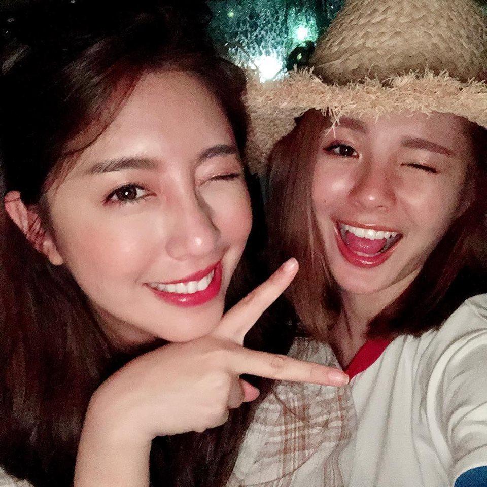 鮪魚(右)和Nono本是好友。圖/鮪魚臉書
