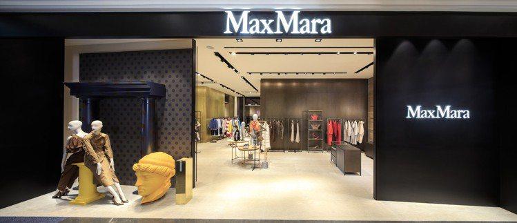 Max Mara微風南山形象概念店全新開幕。圖/Max Mara提供