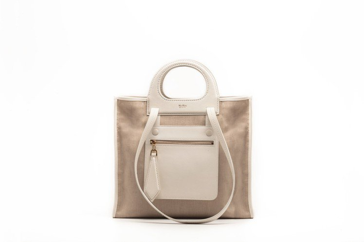 沙色Grace Bag,售價78,800元。圖/Max Mara提供