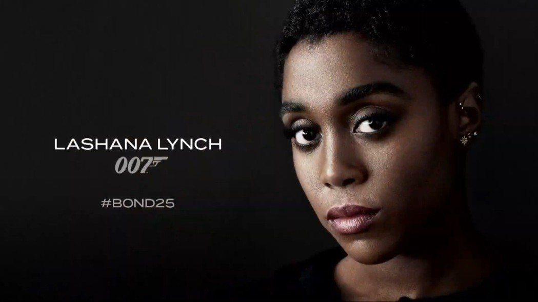 英國黑人女星萊珊納林奇也是第25集007電影的新龐德女郎之一。圖/翻攝自YouT...