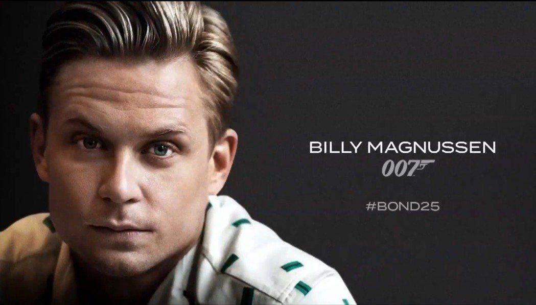 比利馬格努森將在第25集007電影中演出。圖/翻攝自YouTube