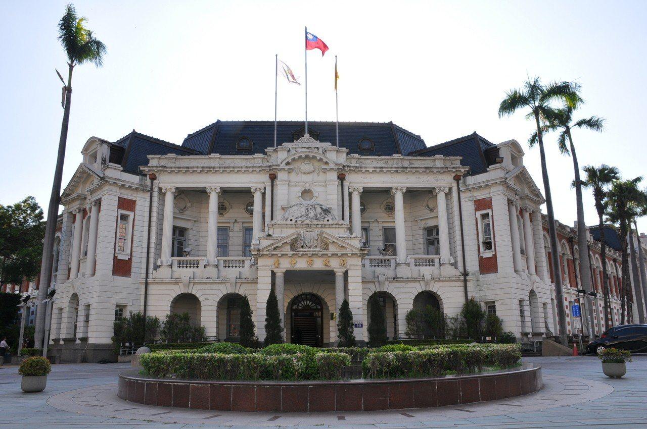 台中州廳是探究台中市都市發展歷史變遷的重要依據,具有高度歷史、藝術及科學價值。圖...
