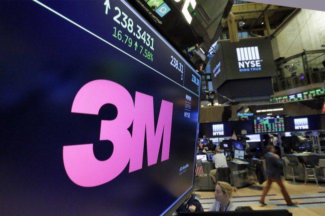 道瓊工業指數25日盤初一度跌逾250點,因為3M公司財測不佳,股價下跌逾10%。...