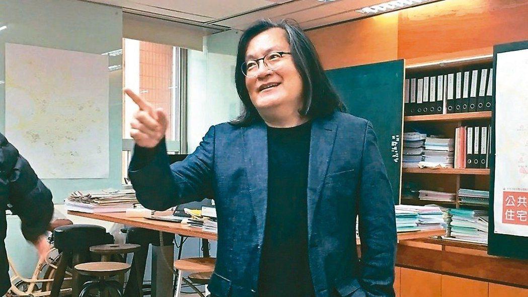 台北市都發局前局長林洲民。  報系資料照