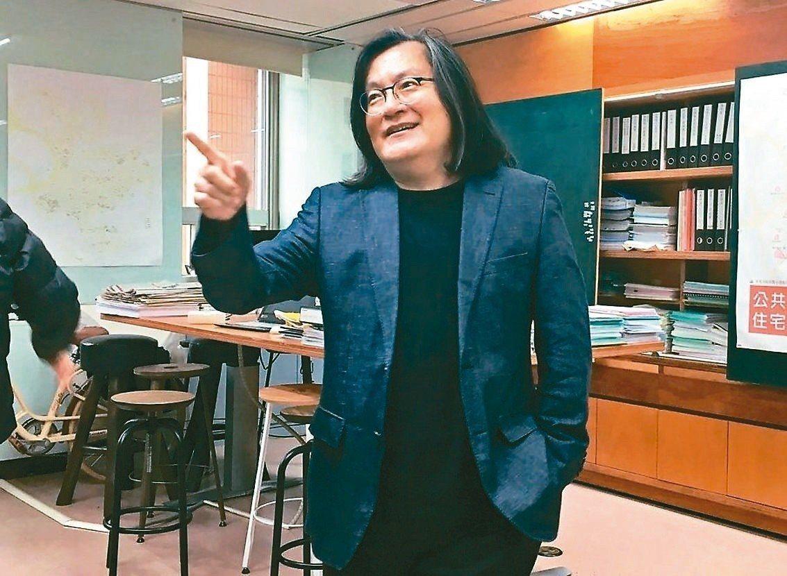 台北市都發局前局長林洲民。 圖/聯合報系資料照片
