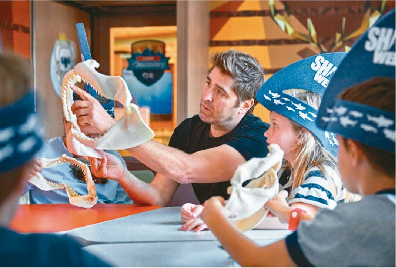 遊輪上活動多,各種年齡層的孩子都能找到玩趣。 圖/公主遊輪提供