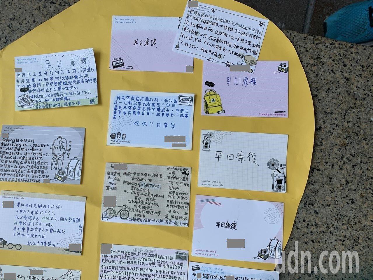 劉姓媽媽說,加害者3名學生都只寫「早日康復」,他們有沒有悔意?我們感受不到,但暫...
