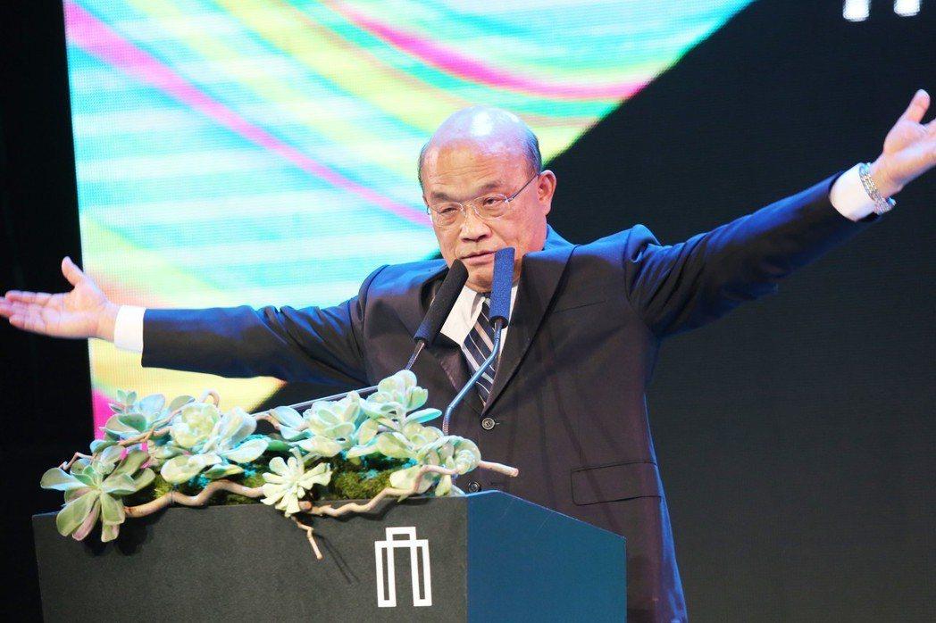 行政院長蘇貞昌宣布,將以補上班挪假方式,讓春節最短放一周以上。 圖/聯合報系資料...
