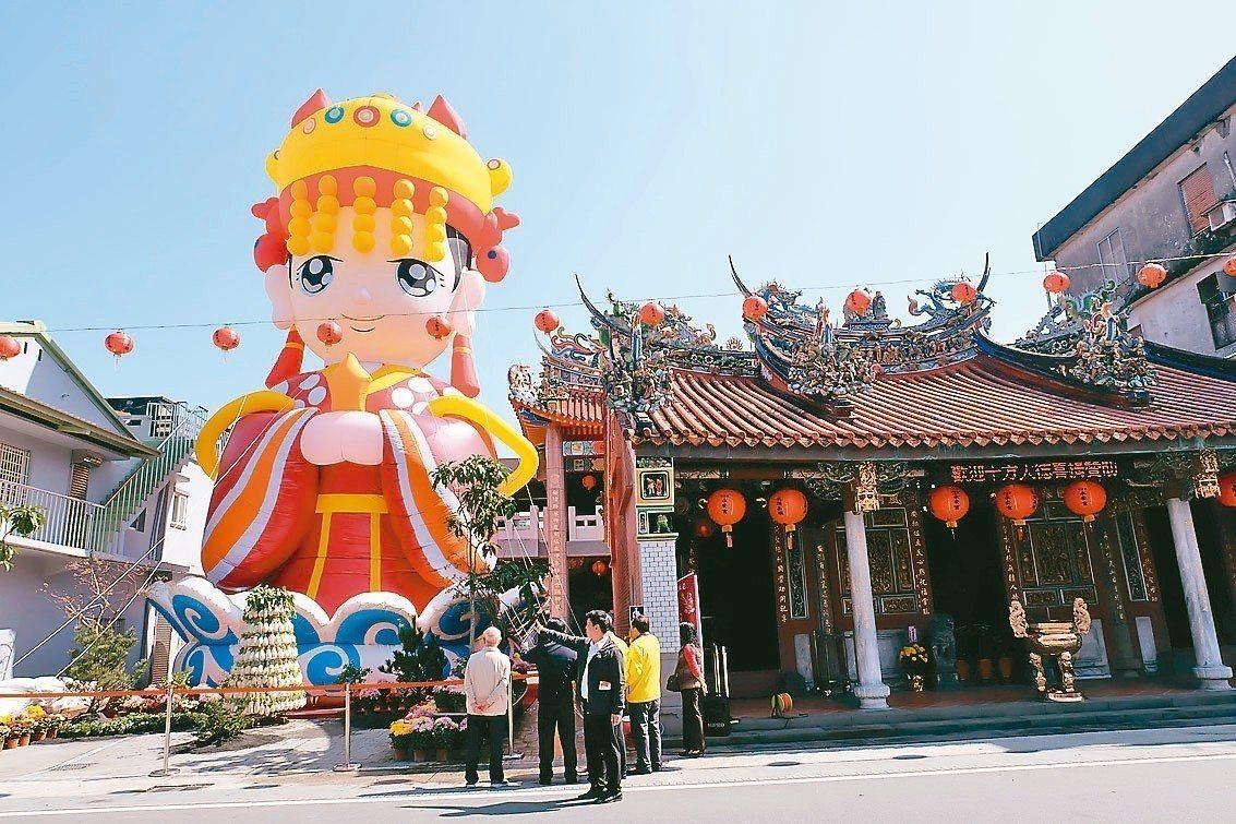 台灣宗教信仰多元,到前年為止,立案宗教類別22個,全台宮廟破萬間。 圖/聯合報系...