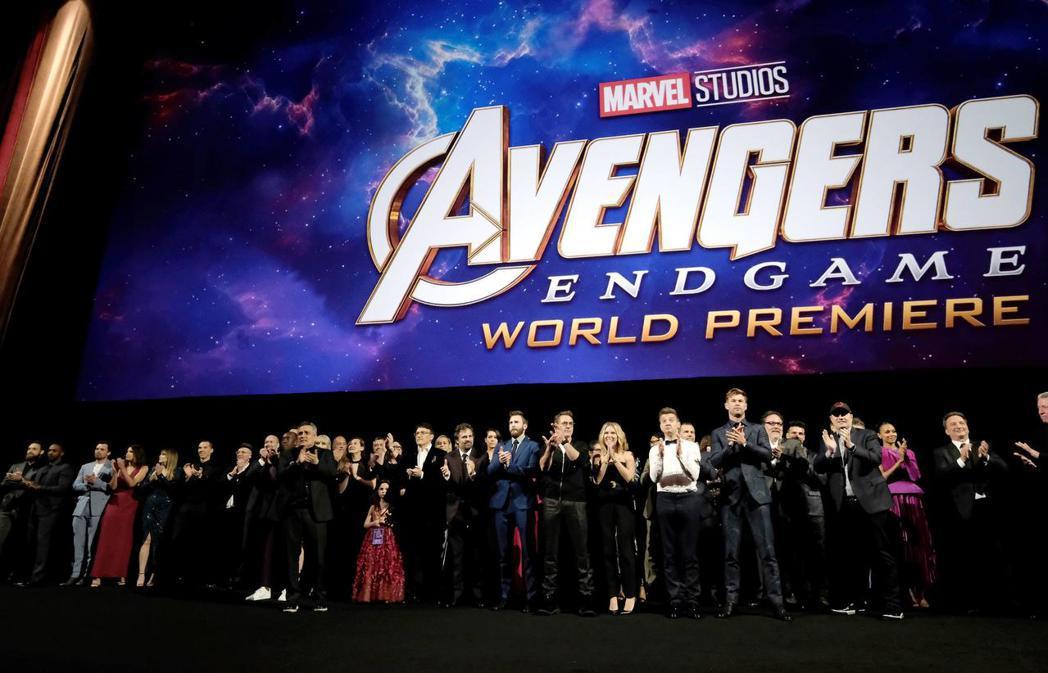 「復仇者聯盟:終局之戰」 (Avengers: End Game) 於洛杉磯的首...