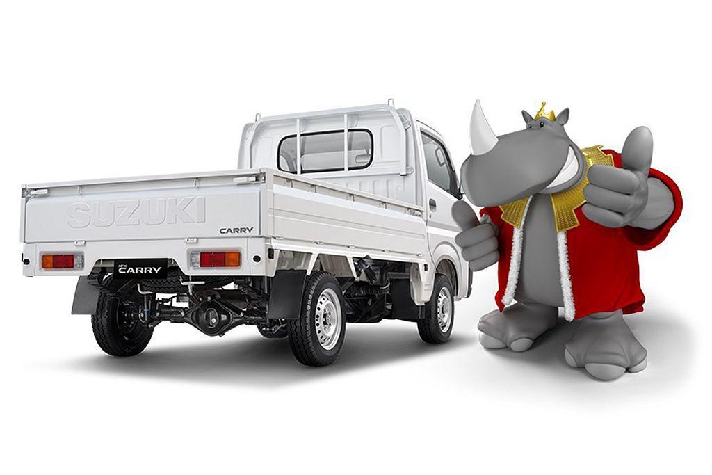 主要訴求承載物品與耐用度,因此新Suzuki Carry懸吊系統依舊是前麥花臣、...