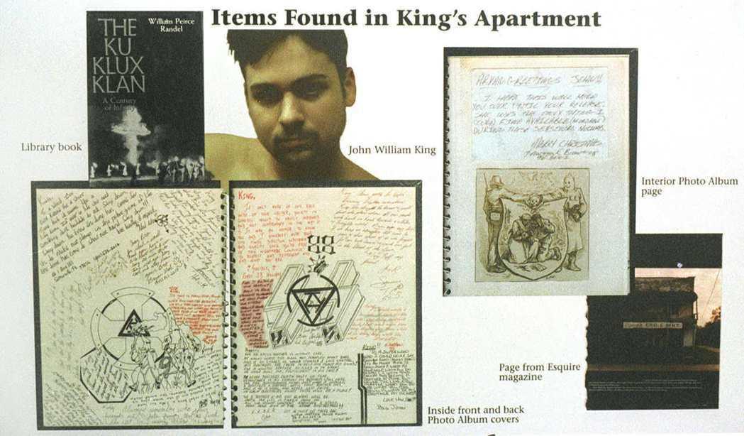 警方調查他們的住處發現,約翰金正在積極組建一支白人至上主義「軍團」,在他的公寓裡...