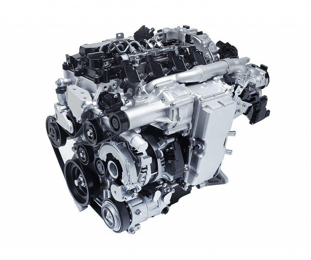 Mazda發言人Drew Cary提到,新Skyactiv-X引擎訂於2019年...