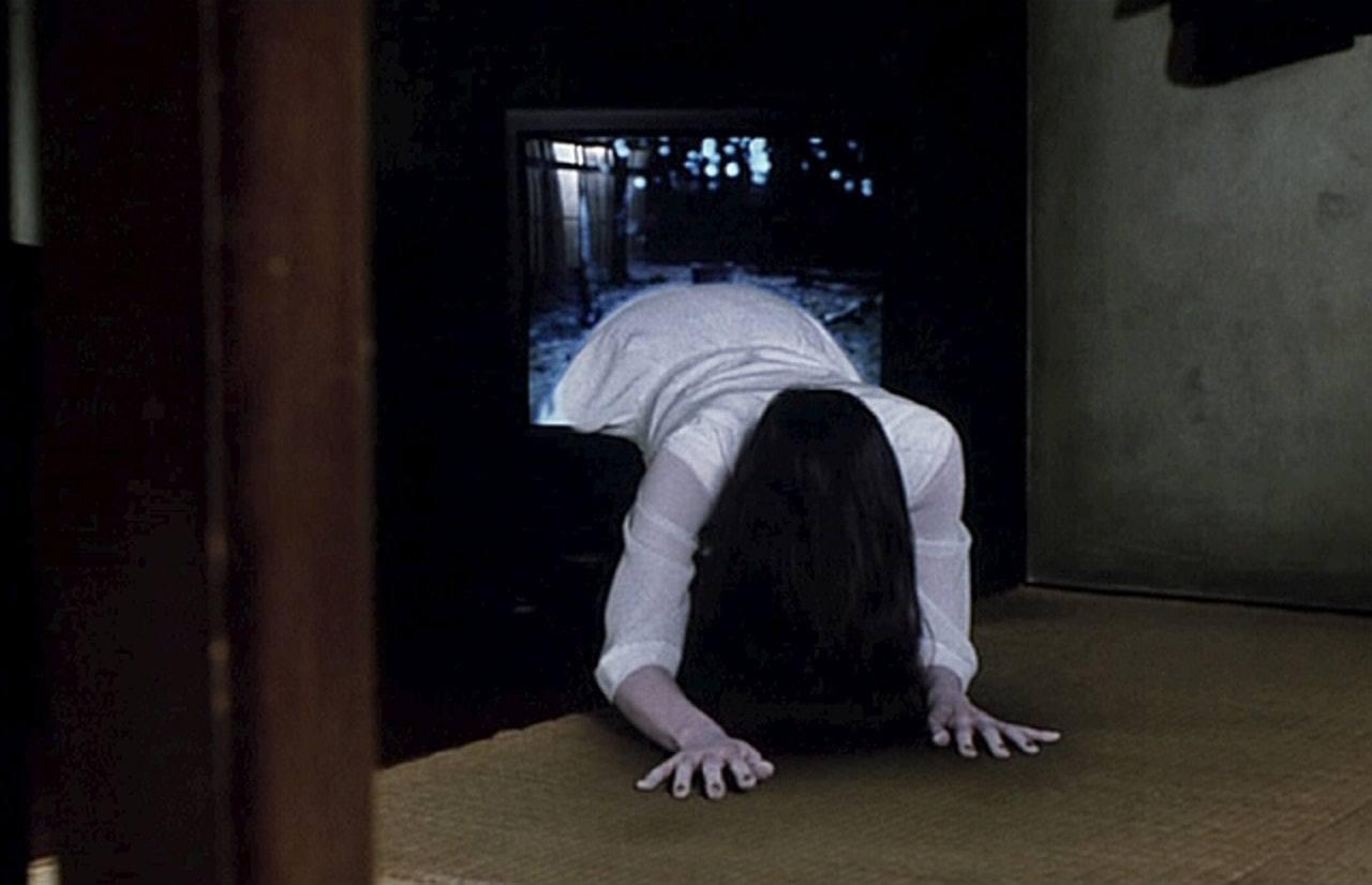 當中最注目的得獎者,是女鬼「貞子」。(《七夜怪談》劇照)