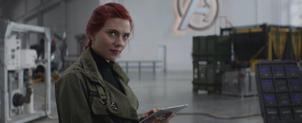 黑寡婦在「復仇者聯盟:終局之戰」戲分比上集增多不少。圖/摘自imdb