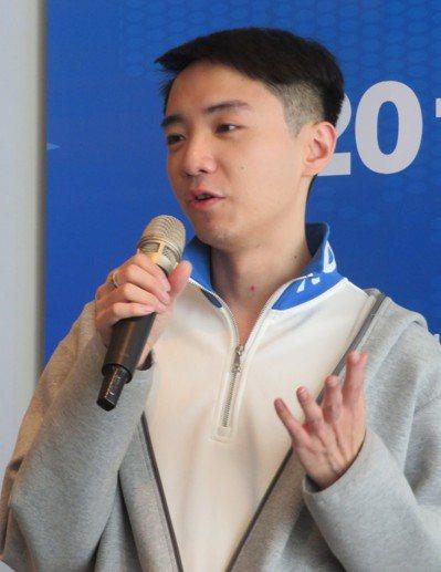 浙江卡麥啦文創公司總經理陳聖浩。記者林則宏/攝影