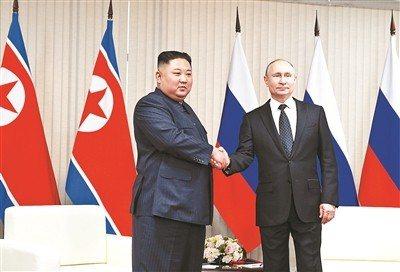俄羅斯總統普丁今(26)日赴北京出席第二屆一帶一路國際合作高峰論壇,普丁繼昨日與...