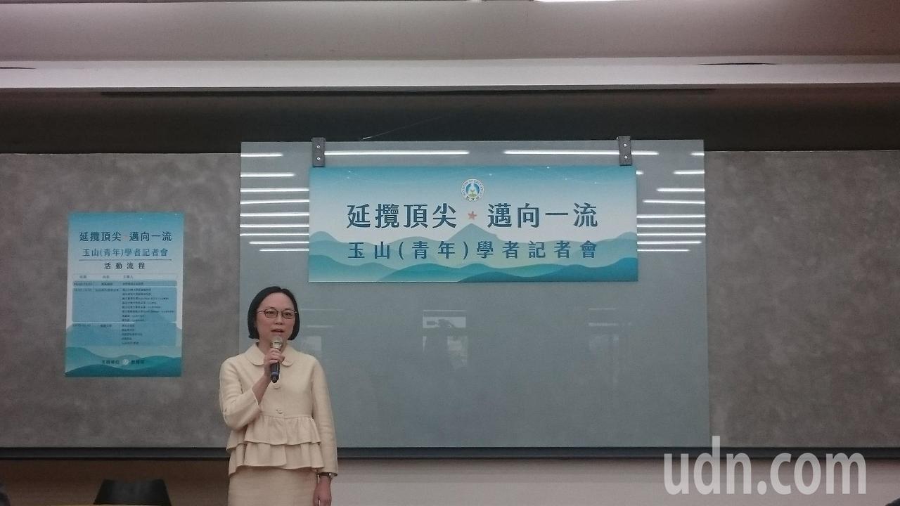 玉山青年學者黃韻如回台大醫學系任教。記者潘乃欣/攝影
