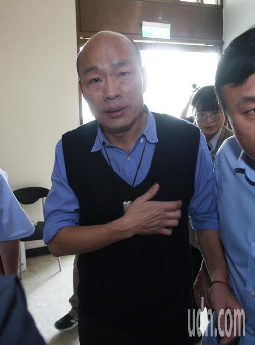 高雄市長韓國瑜表示他會北上與吳敦義見面,至於會談內容什麼都可以談,他都不會迴避。...