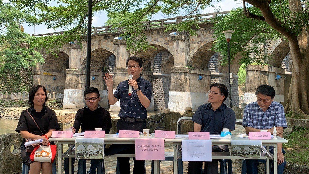 文化局副局長周秋堯強調,文化局對於古蹟修復一直抱持保存最優先,希望透過補強的方式...