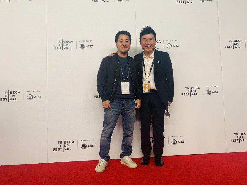 VR電影「董仔的人」李中導演與VIVE ORIGIANLS劉思銘總經理於翠貝卡影