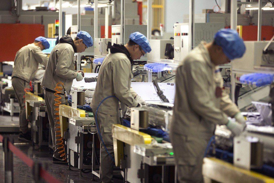 中國今年第1季冷氣產量上揚。美聯社。