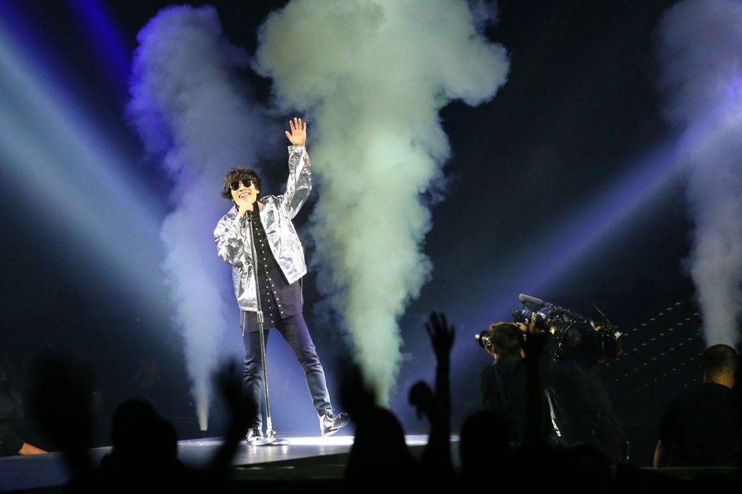 盧廣仲26日起一連3天在台北小巨蛋開唱。記者王騰毅/攝影