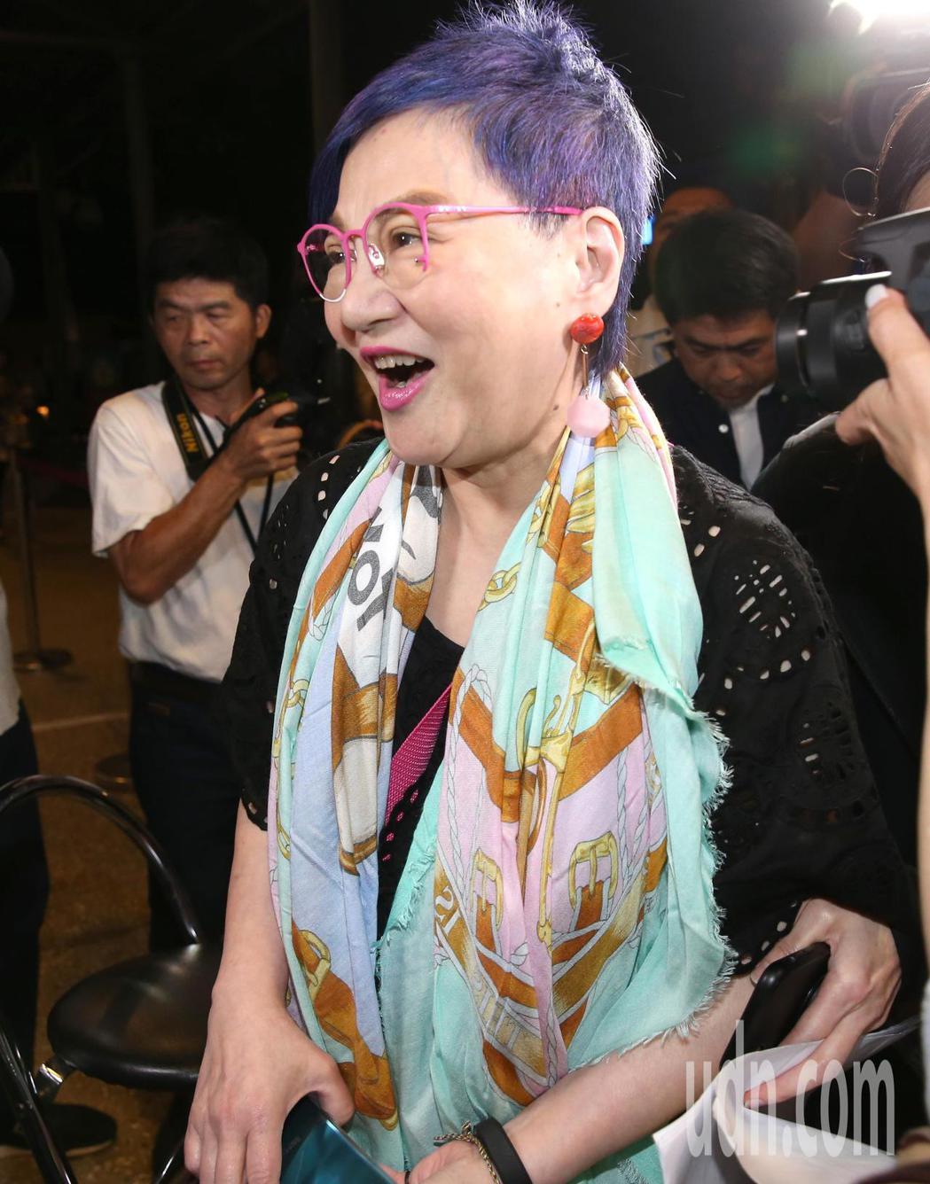 張小燕(圖)出席黃子佼演唱會。記者林澔一/攝影