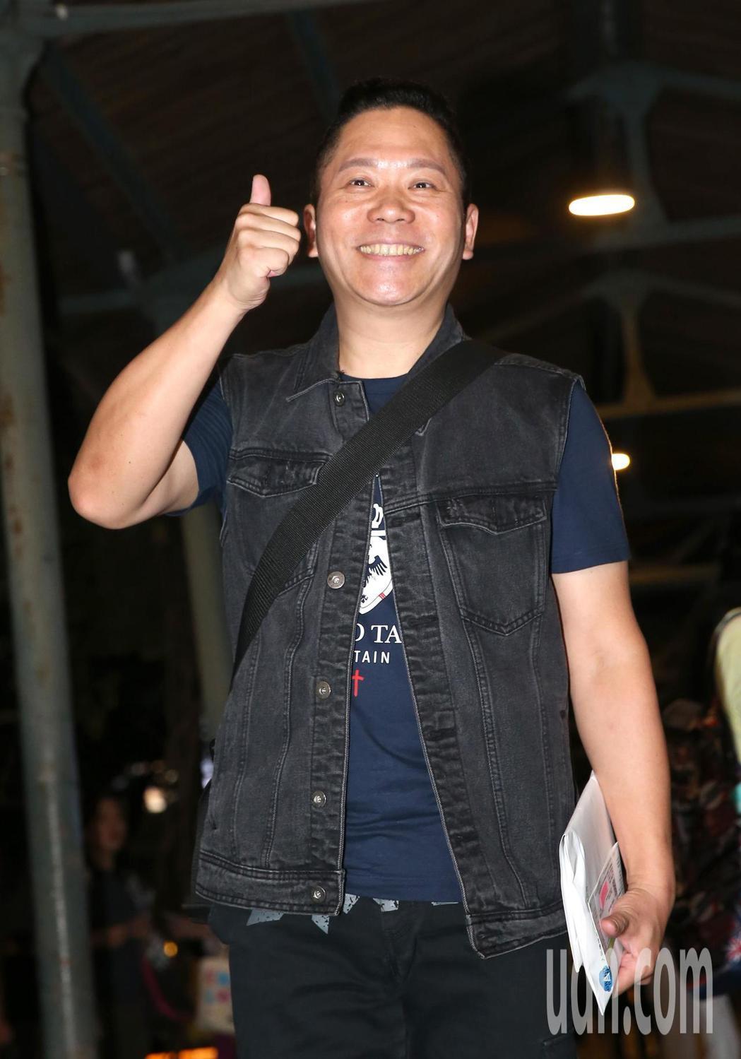 卜學亮(圖)出席黃子佼演唱會。記者林澔一/攝影