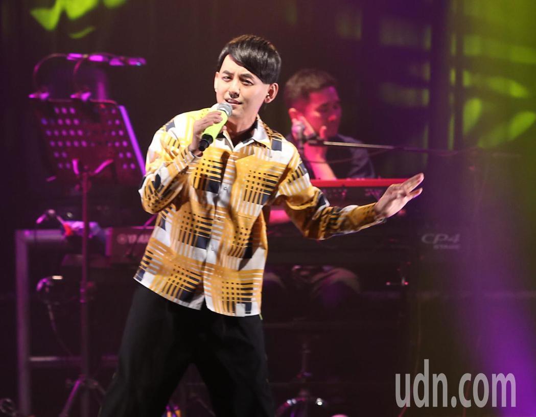 黃子佼出道30年,晚間在華山LEGACY開唱。記者林澔一/攝影
