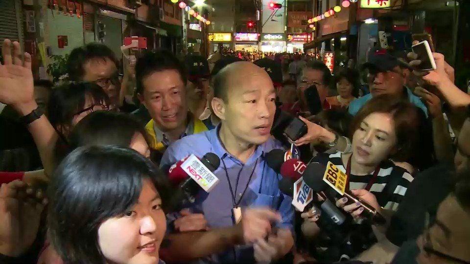 高雄市長韓國瑜說,他已將真相講出,以後有疑問或覺得奇怪的事情,可以致電給他求證,...