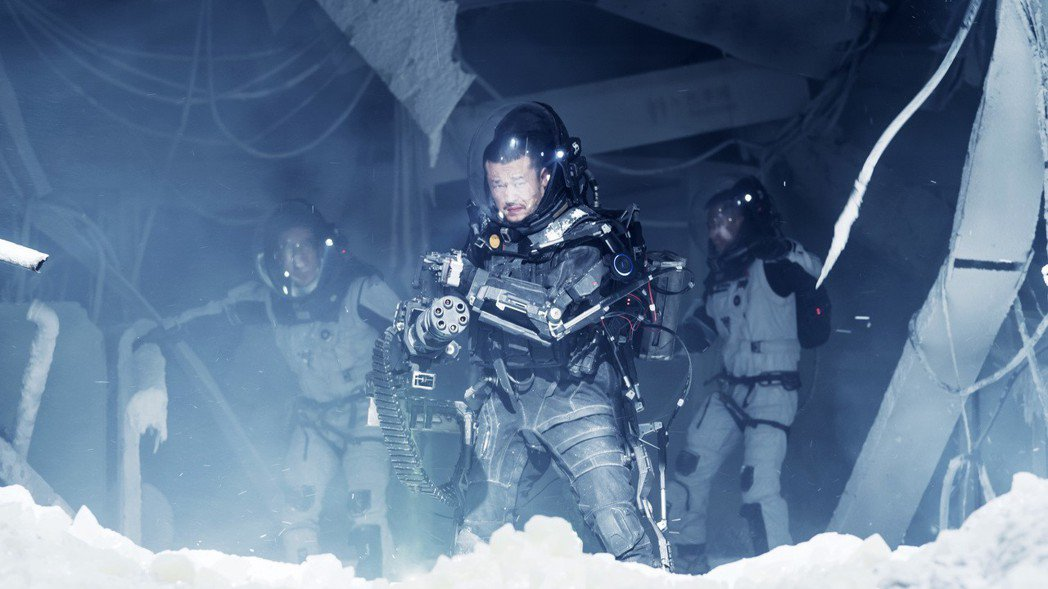 「流浪地球」將在月底於Netflix上架。圖/Netflix提供