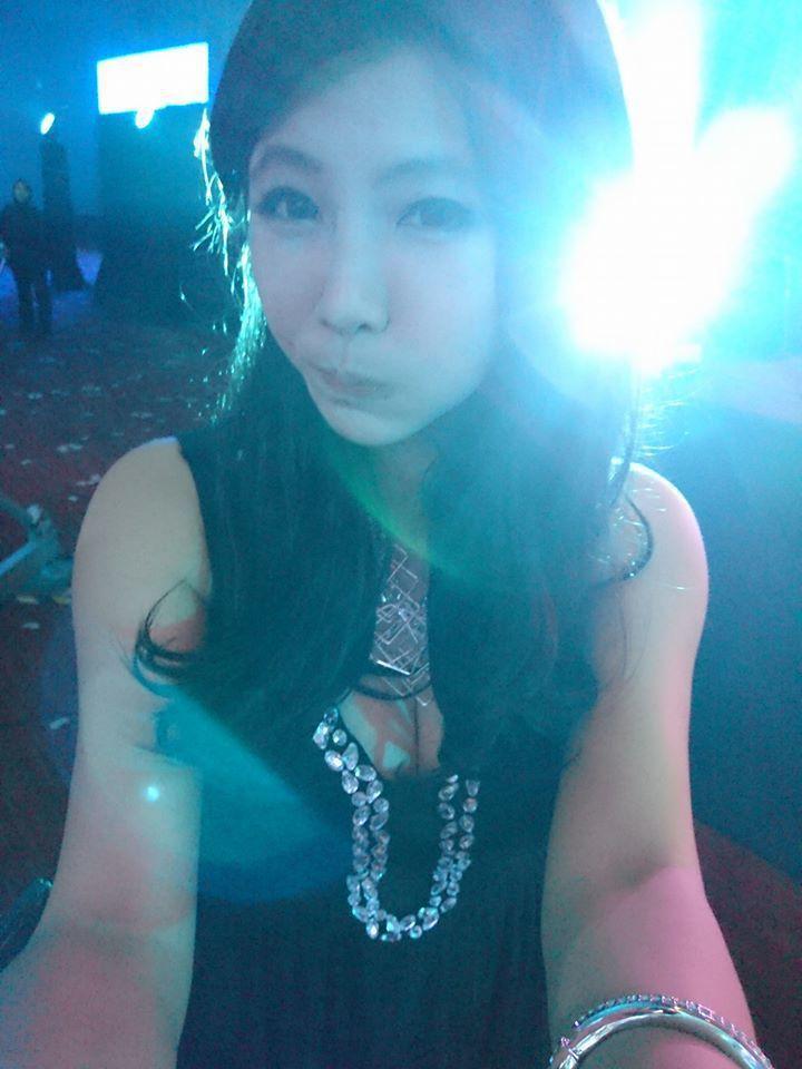 楊伊湄身材姣好,過去為台大十三妹之首,還有「鄉民女神」封號。圖/摘自臉書