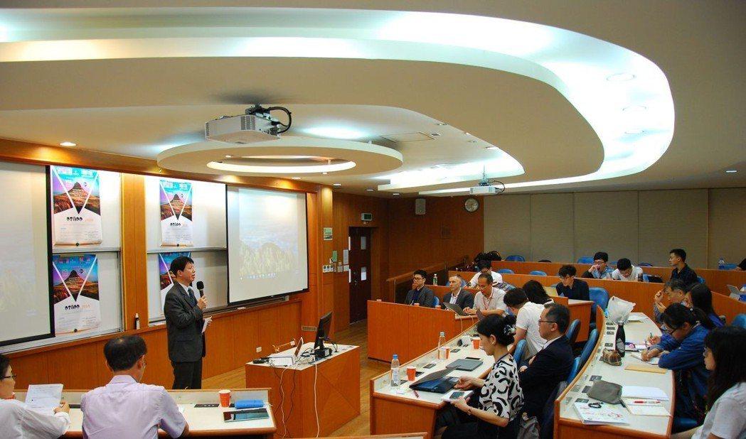 研討會現場。 楊鎮州/攝影