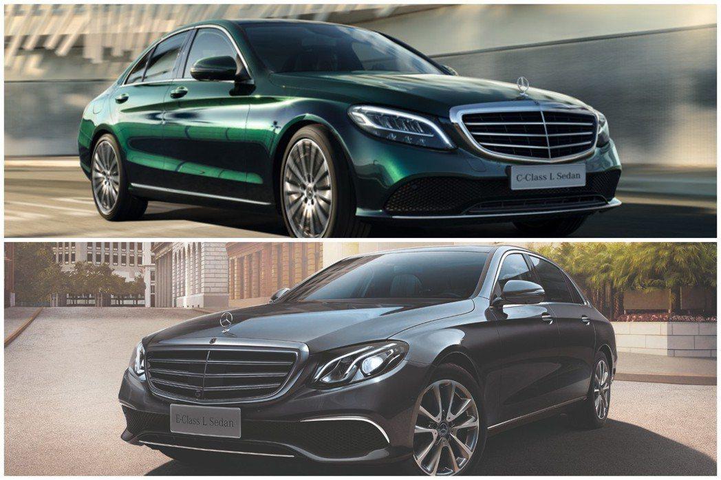 長軸版C-Class與E-Class在中國十分暢銷。 摘自北京奔馳