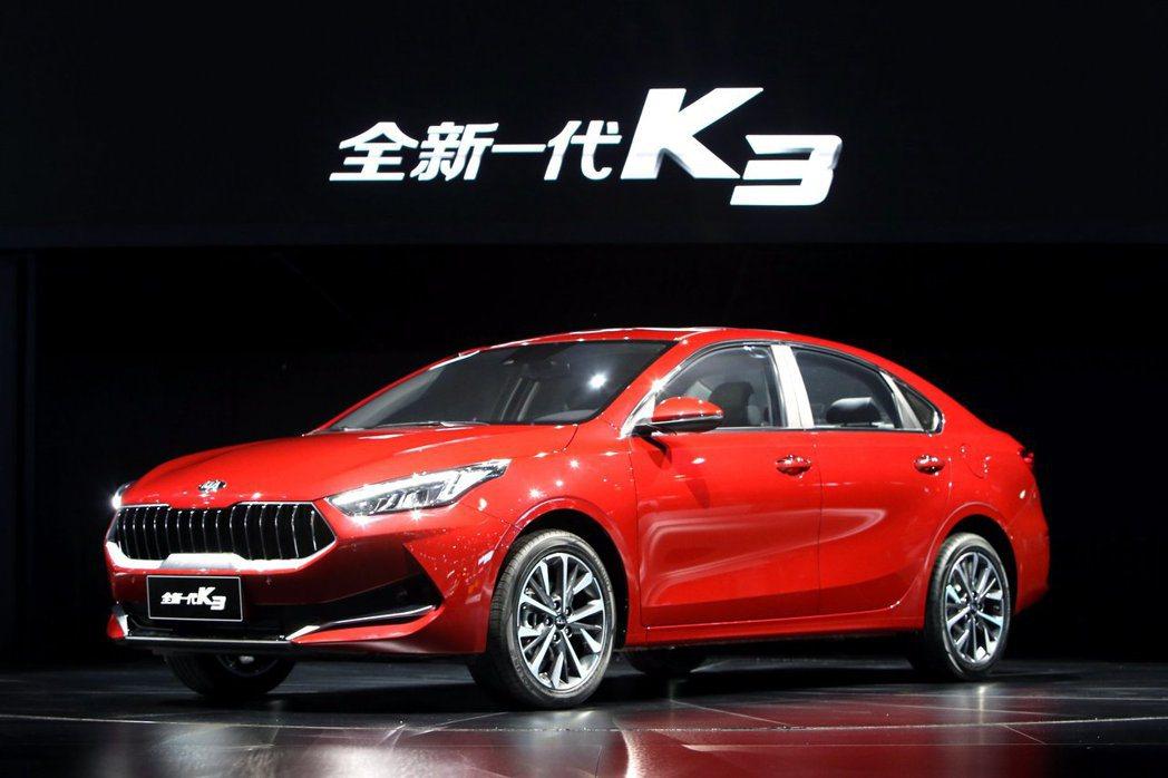 中國版新世代Kia K3提供兩種動力,包括SmartStream 1.5升直噴四...