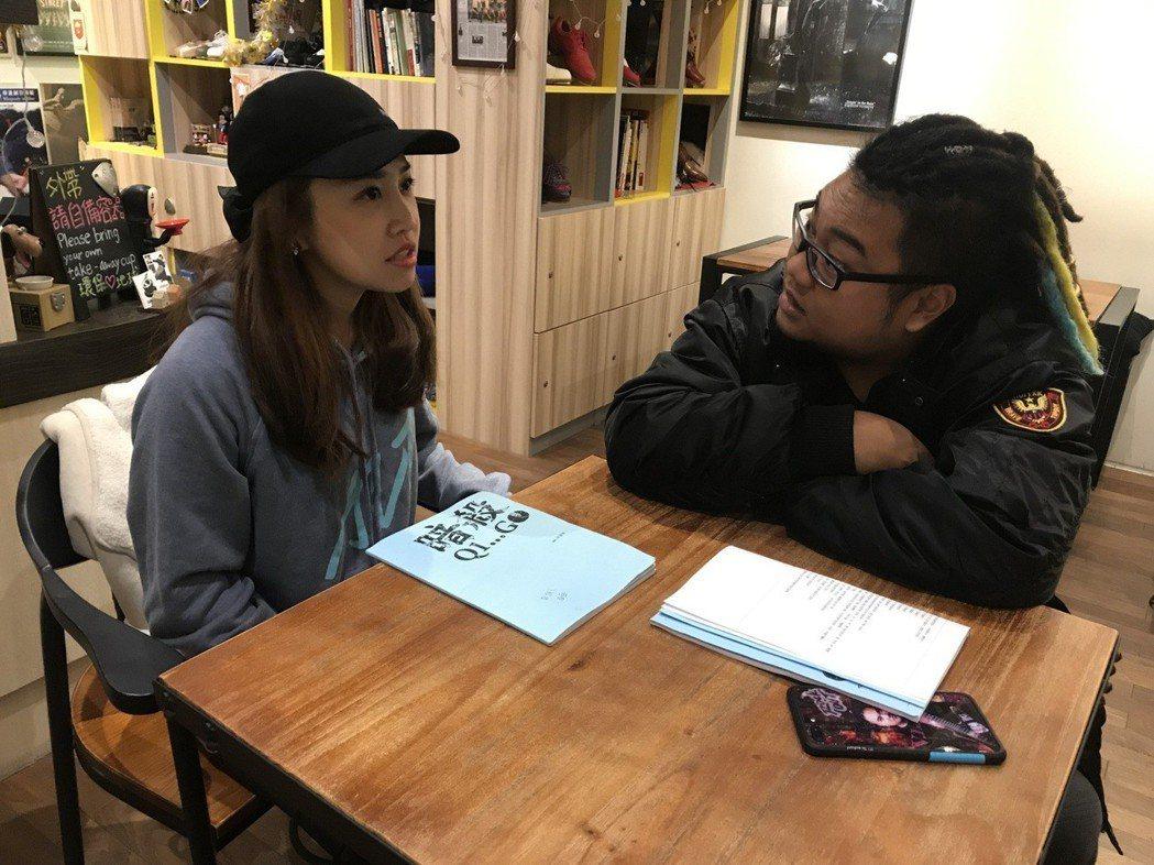 「笑眼甜心」亞亞,5月將挑戰舞台劇。圖/狂人娛樂提供